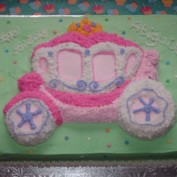 1st Birthday Cake for Abigail Aug 2013