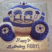 Abby's 1st Birthday Cake