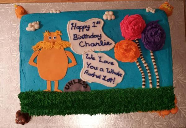 Lorax cake