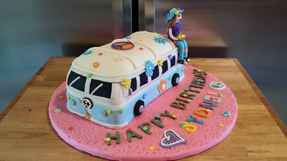 A Hippie Bus For Sydnei Pretty Cakes Pretty Cakes