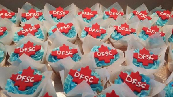 Cupcakes for Dundas Figure Skating Club