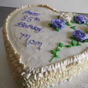 Sugar Free Birthday Cake