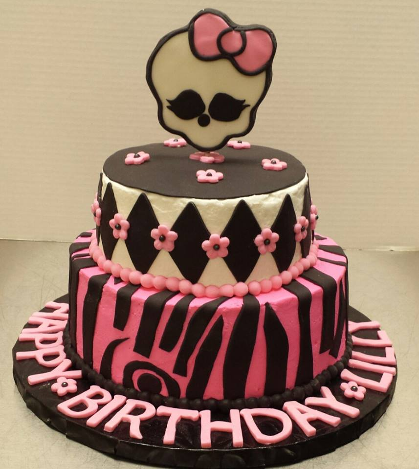 Who has heard of Monster High? Not I! - Pretty Cakes ...