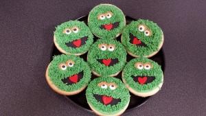 Oscar the Grouch Cookies
