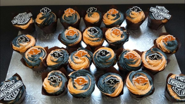 Mikes Harley Cupcakes