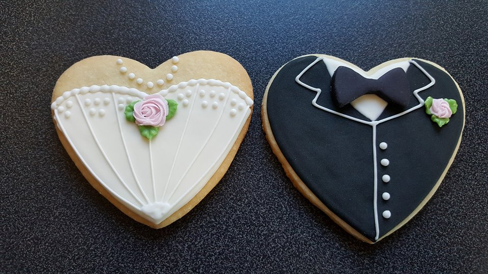 Sugar Cookie Wedding Favours Pretty Cakes Pretty Cakes